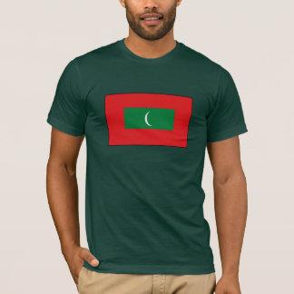 Camiseta T-shirt e presentes da bandeira de Maldives