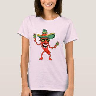 Camiseta T-shirt e presentes da pimenta de pimentão de