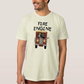 Camiseta T-shirt e presentes da viatura de incêndio