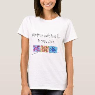 Camiseta T-shirt e presentes das edredões da avó