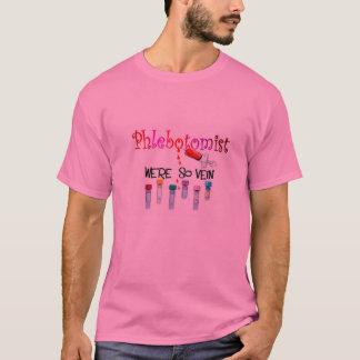 Camiseta T-shirt e presentes de Phlebotomist