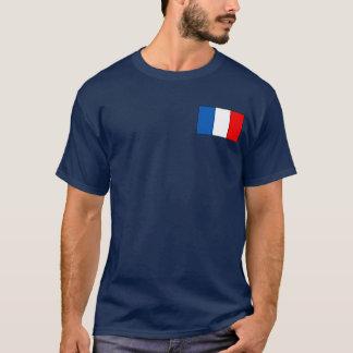 Camiseta T-shirt e presentes franceses da bandeira