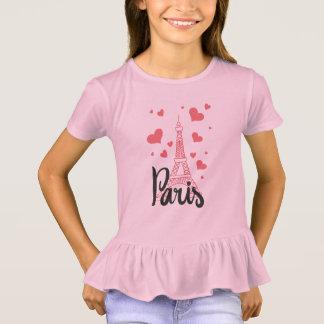 Camiseta T - shirt Ébouriffer Rapariga Paris