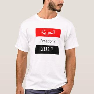 Camiseta T-shirt egípcio da bandeira