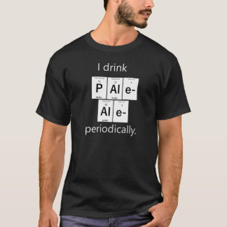 Camiseta T-shirt elementar da química da cerveja inglesa