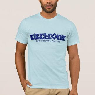 Camiseta T-shirt eletrônico do gênio do estilo do PWB do