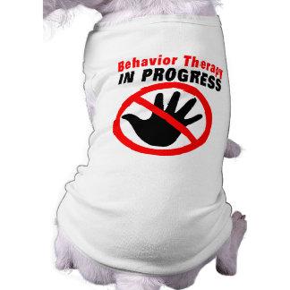 Camiseta T-shirt em andamento da terapia de comportamento