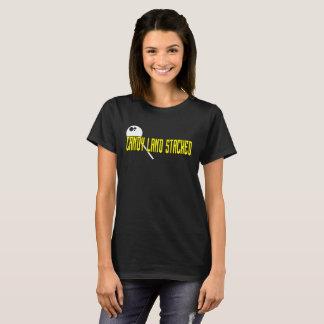 Camiseta T-shirt empilhado terra dos doces