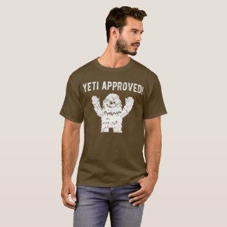 Camiseta T-shirt engraçado aprovado de Bigfoot do Yeti