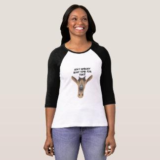 Camiseta T-shirt engraçado da cabra