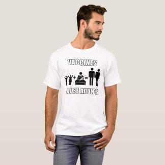 Camiseta T-shirt engraçado da ciência dos adultos da causa