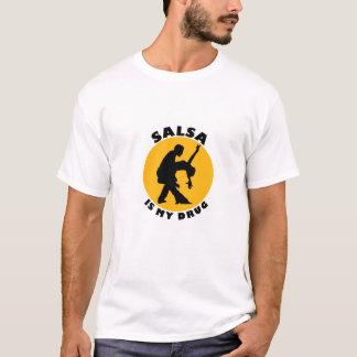 Camiseta T-shirt engraçado da dança da salsa, ideia dos