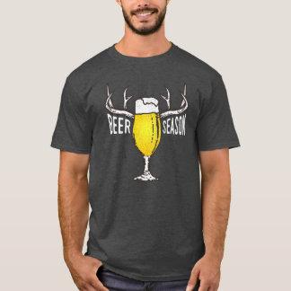 Camiseta T-shirt engraçado da estação da cerveja