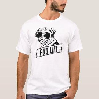 Camiseta T-shirt engraçado da vida do Pug