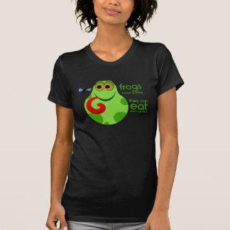 Camiseta T-shirt engraçado das citações do sapo