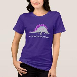 Camiseta T-shirt engraçado de Stegasaurus