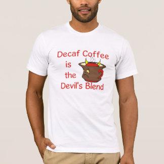 Camiseta T-shirt engraçado do amante do café