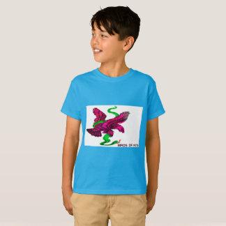 Camiseta T-shirt engraçado do cobra do TAGLESS® Eagle dos