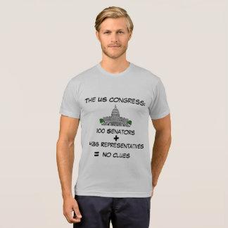 Camiseta T-shirt engraçado do congresso dos E.U.
