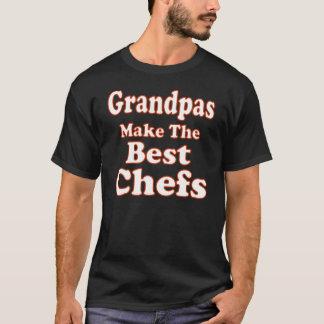 Camiseta T-shirt engraçado do cozinheiro chefe do vovô