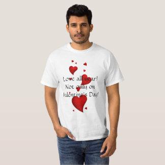 Camiseta T-shirt engraçado do dia dos namorados
