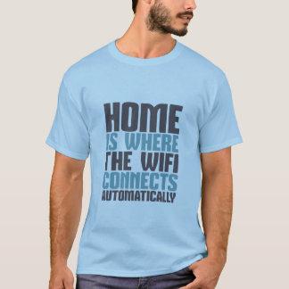 Camiseta T-shirt engraçado do geek do computador