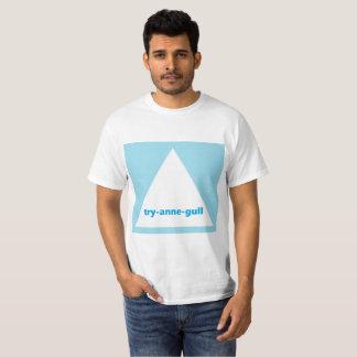 Camiseta T-shirt engraçado do triângulo