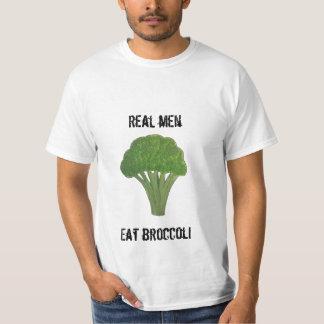 Camiseta T-shirt engraçado dos brócolos