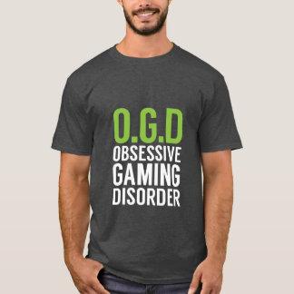 Camiseta T-shirt engraçado dos Gamers para geeks do jogo