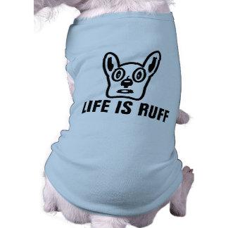 Camiseta T-shirt engraçados da roupa do cão