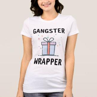 Camiseta T-shirt engraçados do Natal, ENVOLTÓRIO do