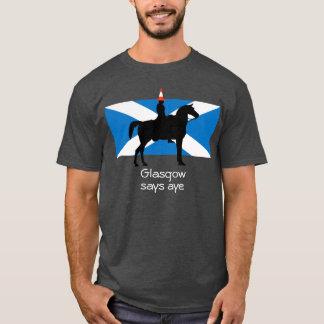 Camiseta T-shirt escocês da independência de Glasgow