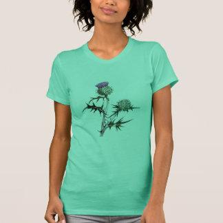 Camiseta T-shirt escocês do cardo de lança