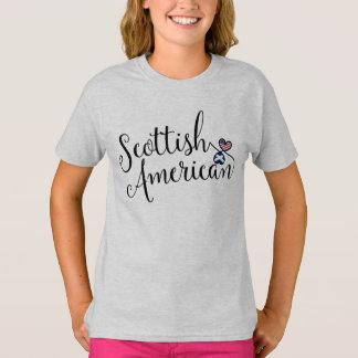 Camiseta T-shirt escocês dos corações de Entwinted do