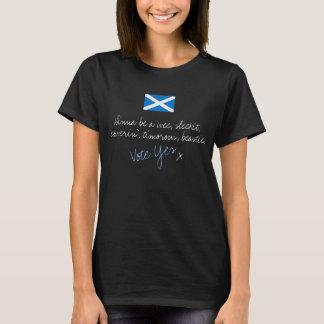 Camiseta T-shirt escocês Timorous da independência de