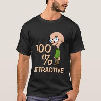 Camiseta T-shirt escuro atrativo de 100%