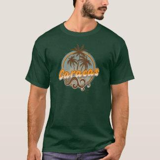Camiseta T-shirt escuro básico de Caracas