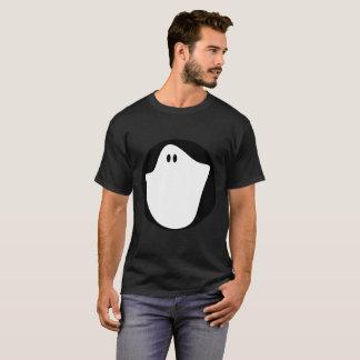 Camiseta T-shirt escuro básico do fantasma dos homens
