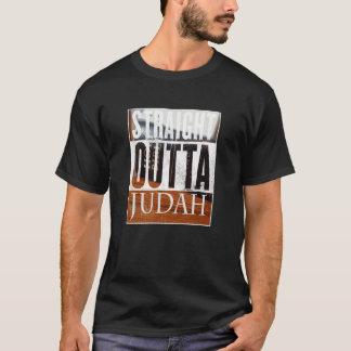 Camiseta T-shirt escuro básico reto de Outta Judah