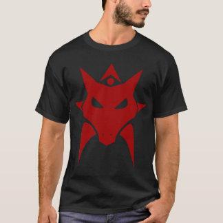 Camiseta T-shirt escuro do vermelho do dragão