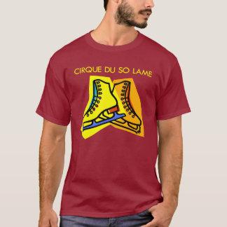 Camiseta T-shirt escuro tão coxo de Cirque du