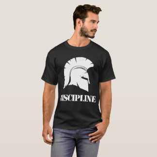Camiseta T-shirt espartano da disciplina