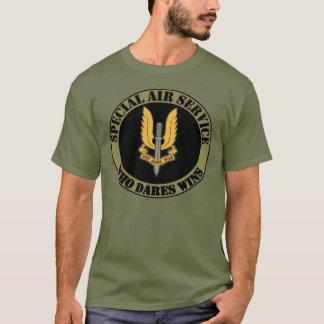 Camiseta T-shirt especial do serviço aéreo