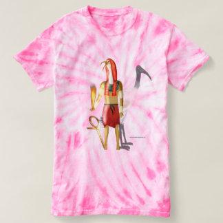 Camiseta T-shirt espectral da Laço-Tintura das senhoras das
