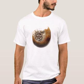 Camiseta T-shirt espiral místico do Pentagram de Wiccan