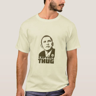Camiseta T-shirt esquerdista adulto do vândalo de Obama