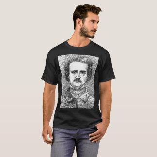 Camiseta T-shirt estático do Dia das Bruxas do retrato de