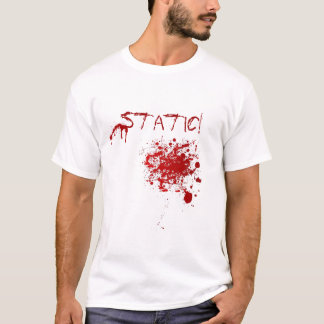 """Camiseta T-shirt estático do """"Spatter"""""""