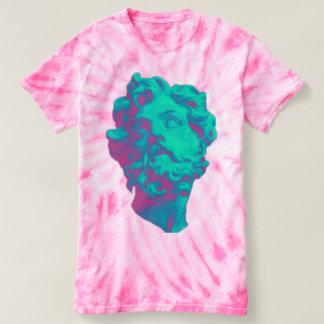 Camiseta T-shirt estético das mulheres da estátua do pulso