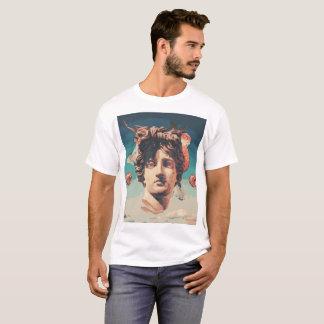 Camiseta T-shirt estético dos homens da estátua de